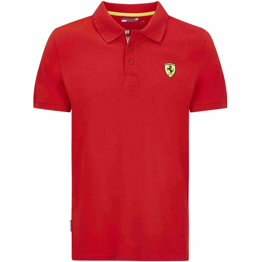 Scuderia Ferrari F1 Men's Classic Polo Black/Red