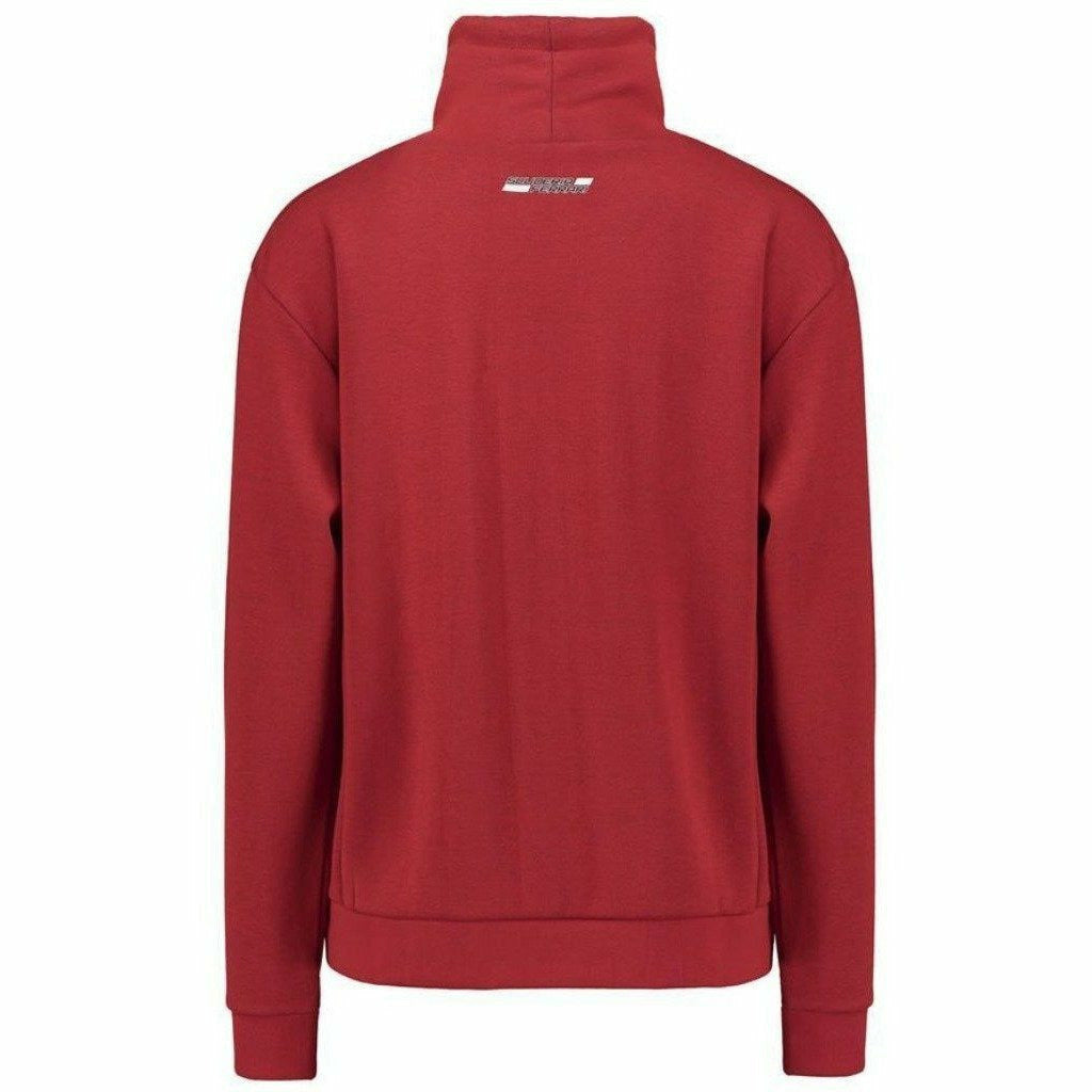 Scuderia Ferrari Formula 1 Women's 2018 Red Funnel Neck Sweatshirt
