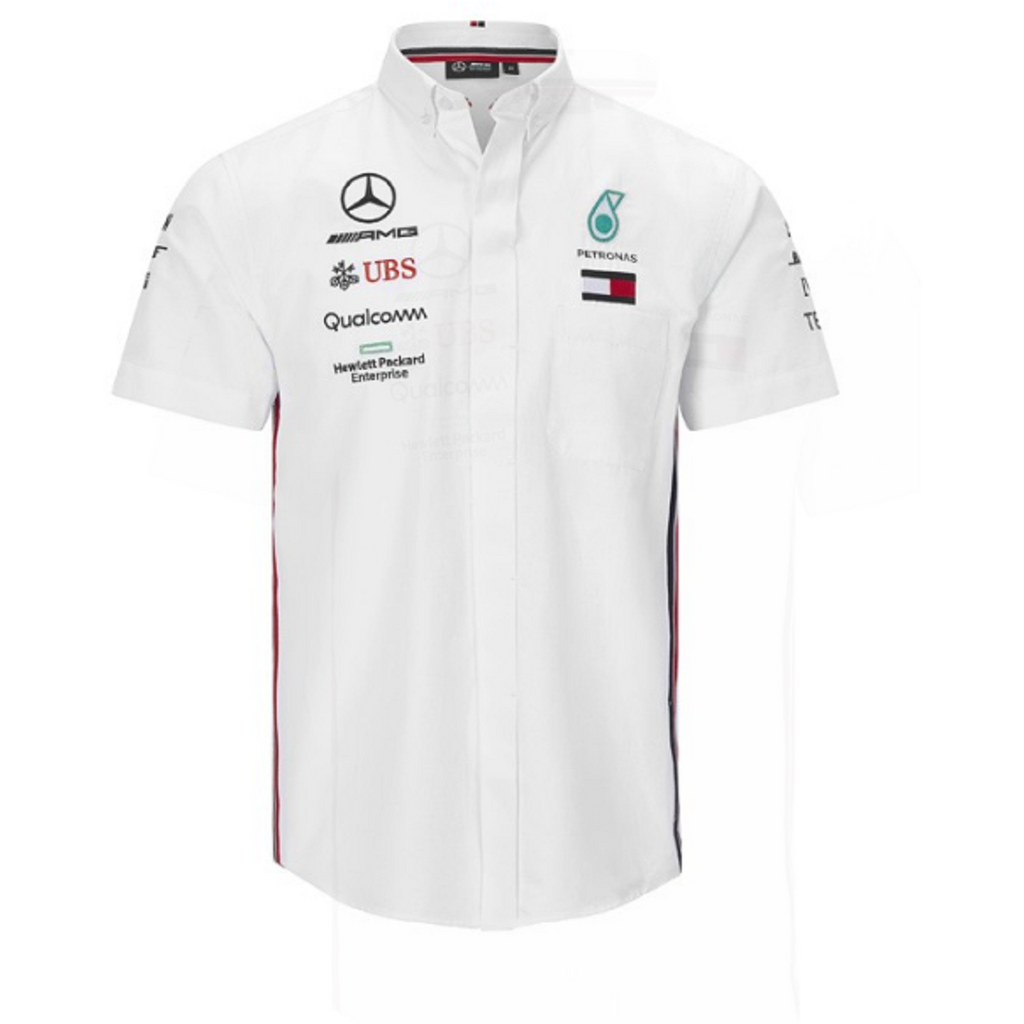 Mercedes Benz Amg Petronas F1 2020 Men's Team Shirt White