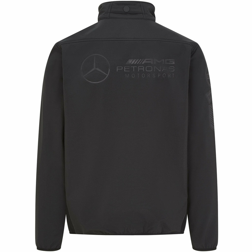 Mercedes Benz AMG Petronas F1 Men's Softshell Jacket Black