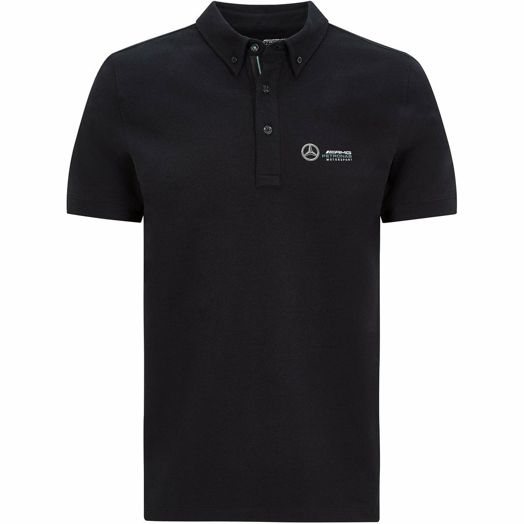 Mercedes Benz AMG Petronas F1 Men's Classic Polo Black