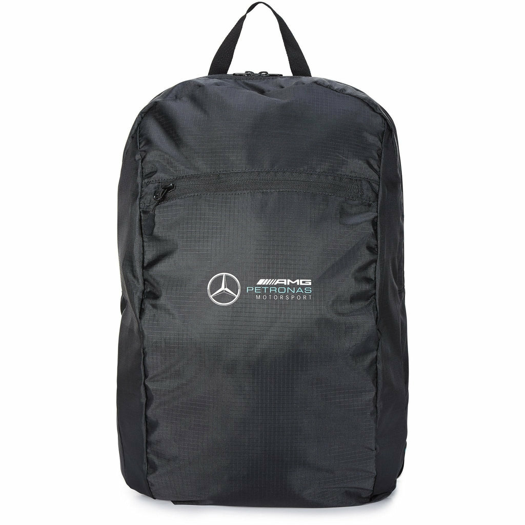 Mercedes Benz AMG Petronas F1 Packable Backpack Black