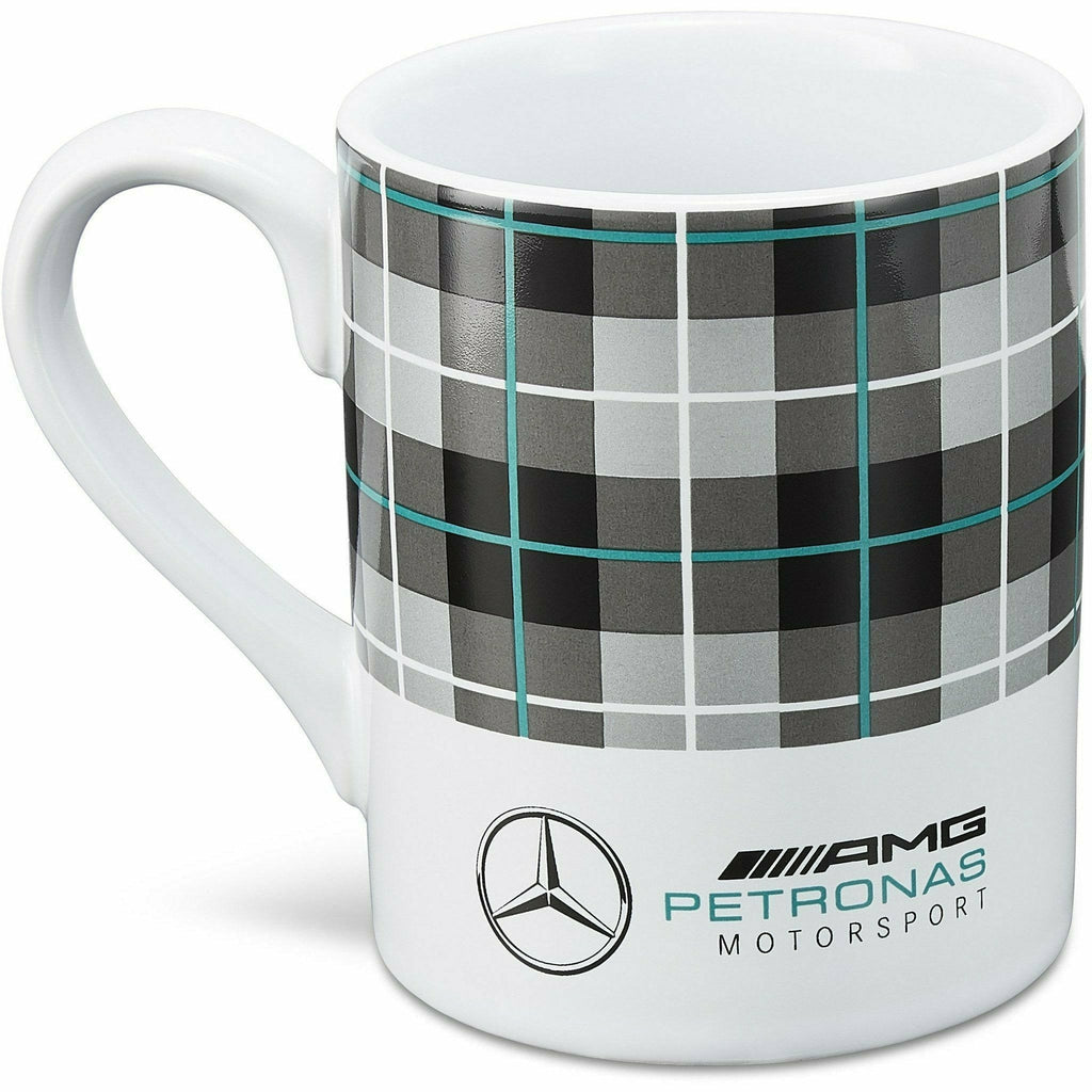 Mercedes Benz AMG Petronas F1 Seasonal Check Mug