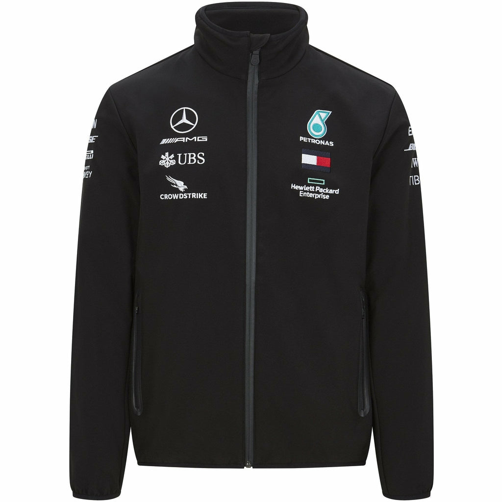 Mercedes Benz AMG Petronas F1 2020 Men's Team Softshell Jacket
