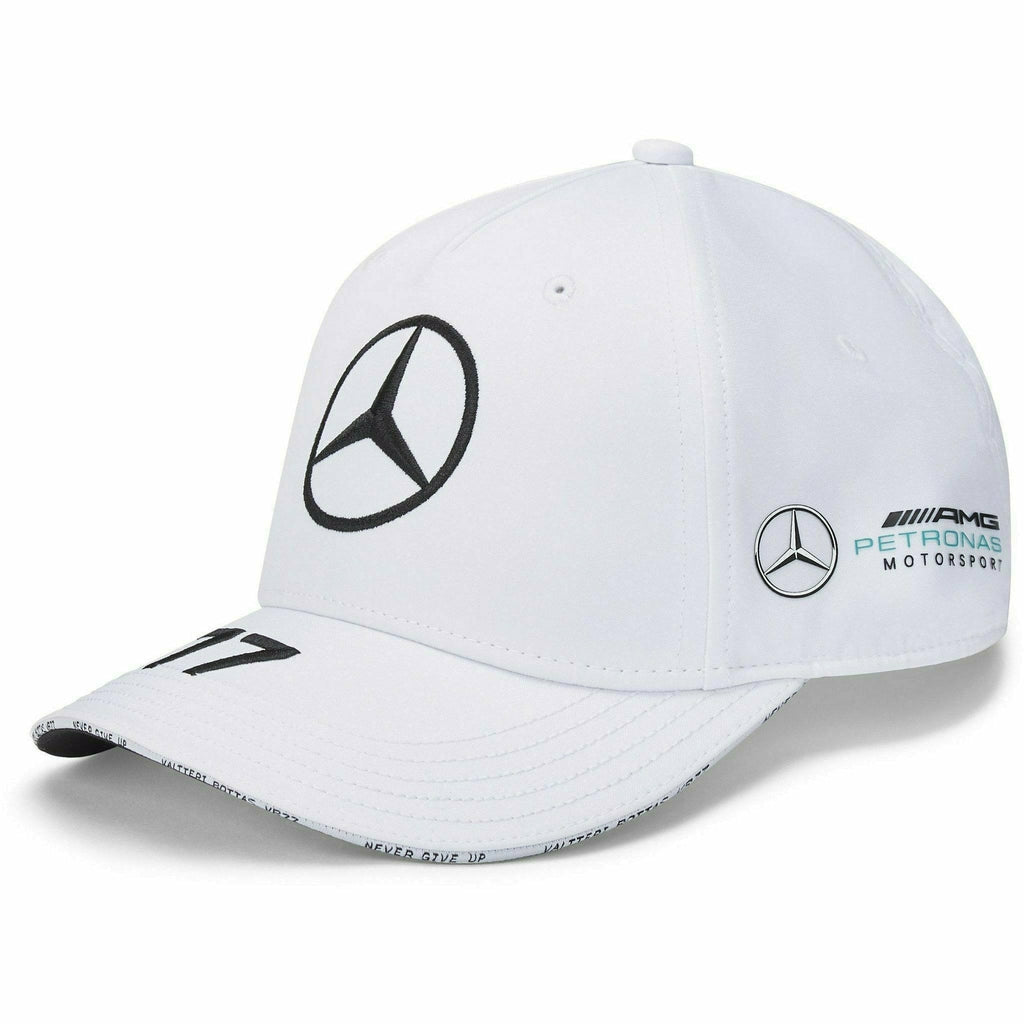 Mercedes Benz AMG Petronas F1 2020 Valtteri Bottas Team Baseball Hat Black/Blue/White