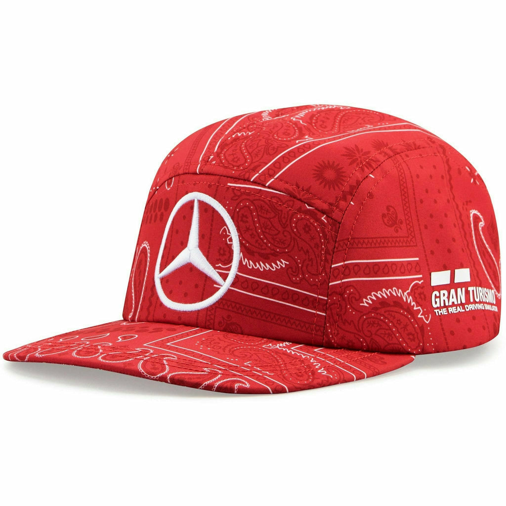 Mercedes Benz F1 Special Edition Lewis Hamilton 2020 British Silverstone Hat Red