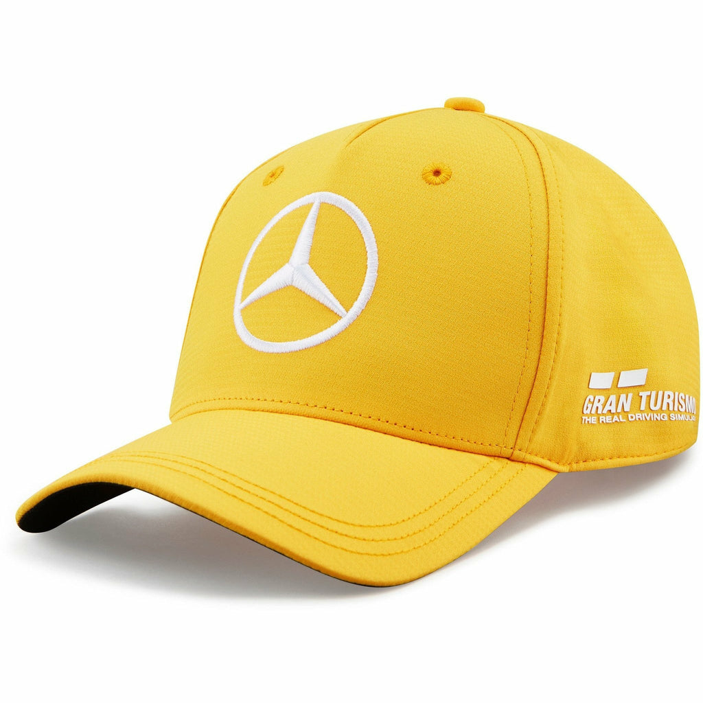 Mercedes Benz F1 Special Edition Lewis Hamilton 2020 Abu Dhabi GP Hat Yellow