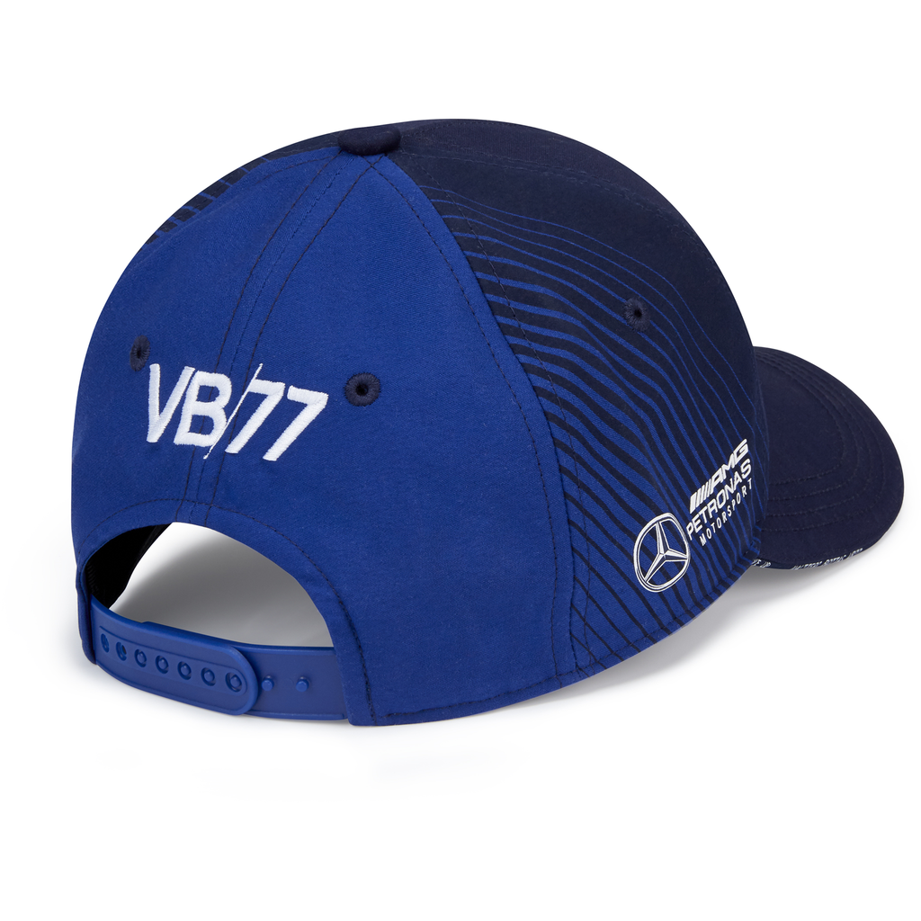 Mercedes Benz AMG Petronas F1 2020 Valtteri Bottas Team Baseball Hat Navy