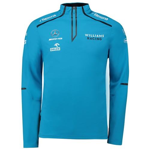 Williams Racing 2019 Men's Team Midlayer Blue