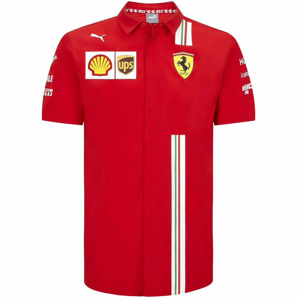 Scuderia Ferrari F1 Men's 2020 Team Shirt Red