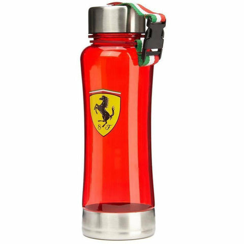 Scuderia Ferrari Formula 1 Red Race Water Bottle F1