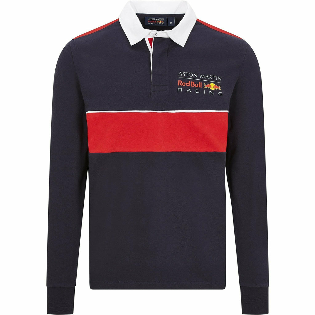 Red Bull Racing F1 Men's Long Sleeve Polo Shirt