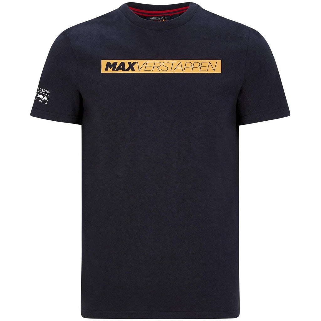 Red Bull Racing F1 Men's Max Verstappen Graphic T-Shirt Navy