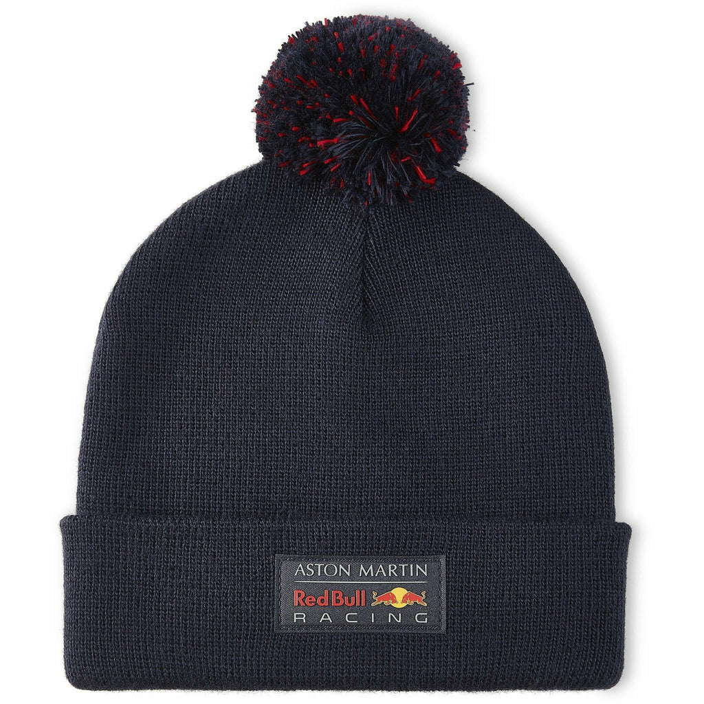 Red Bull Racing F1 Bobble Beanie Navy