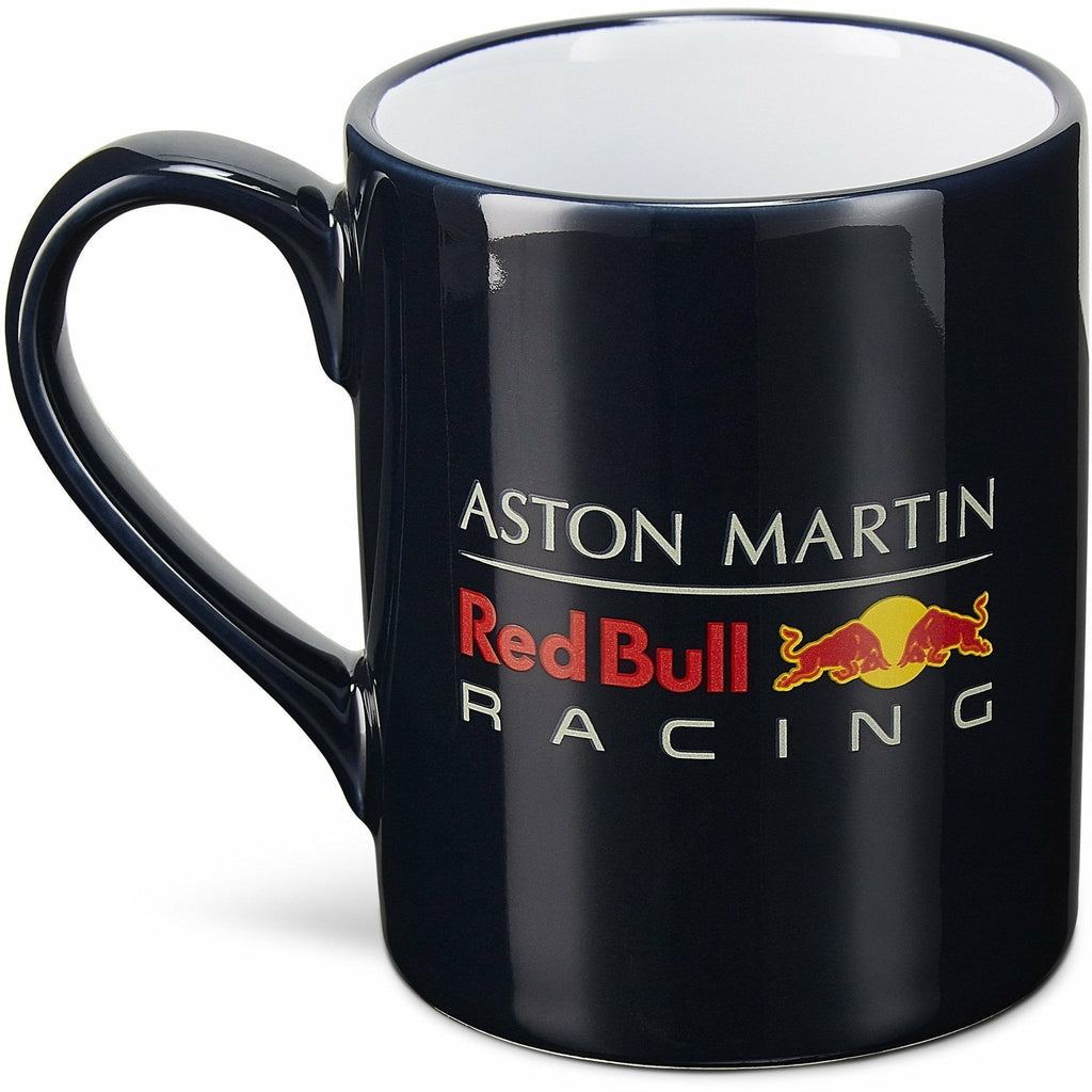 Red Bull Racing F1 Logo Mug Navy/White