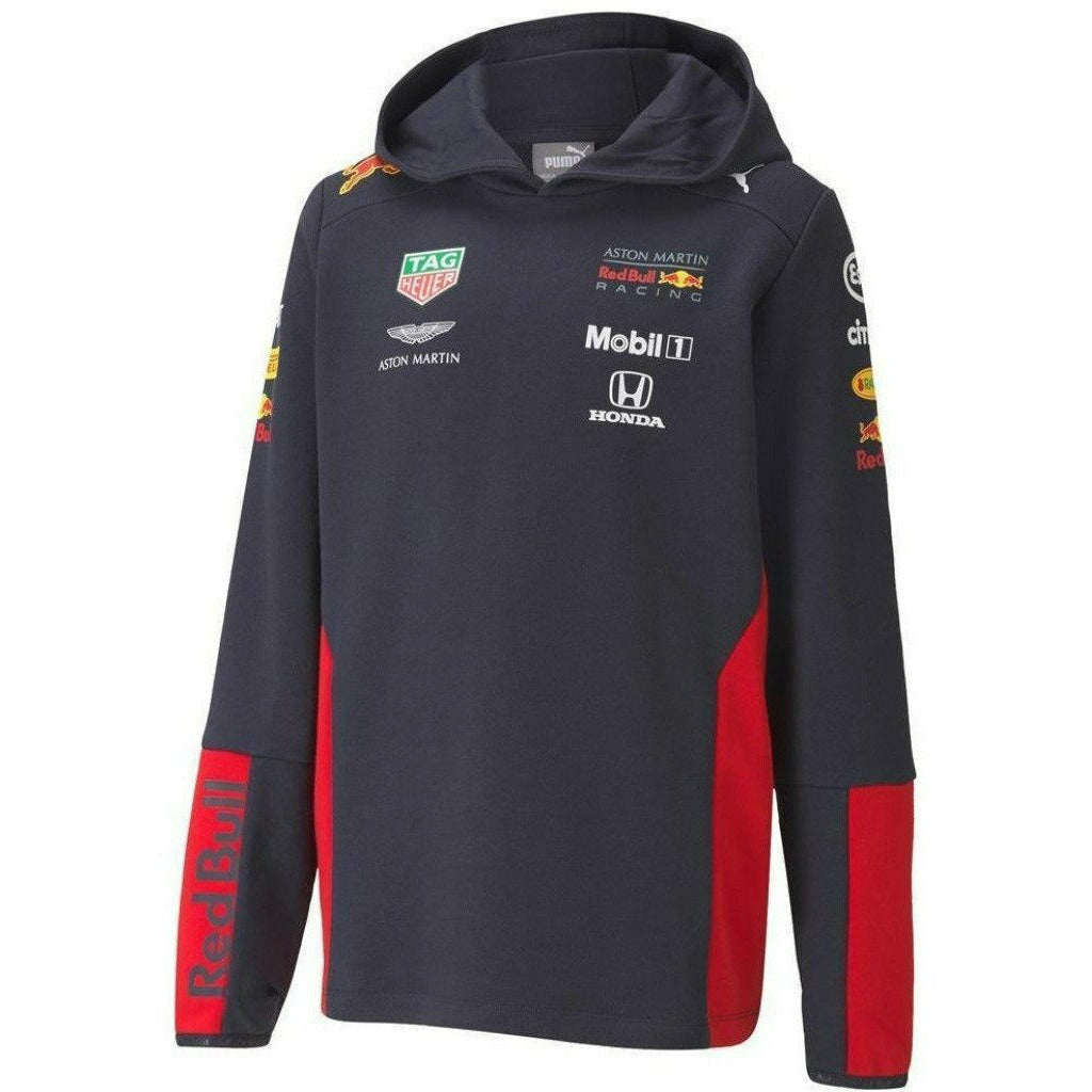Red Bull Racing F1 2020 Kids Team Hoodie Sweatshirt Navy