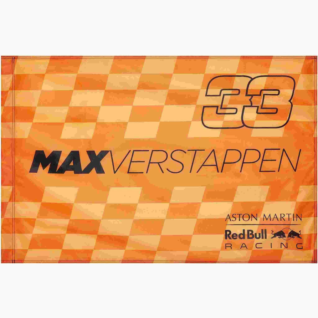 Red Bull Racing F1 Max Verstappen #33 Orange Flag