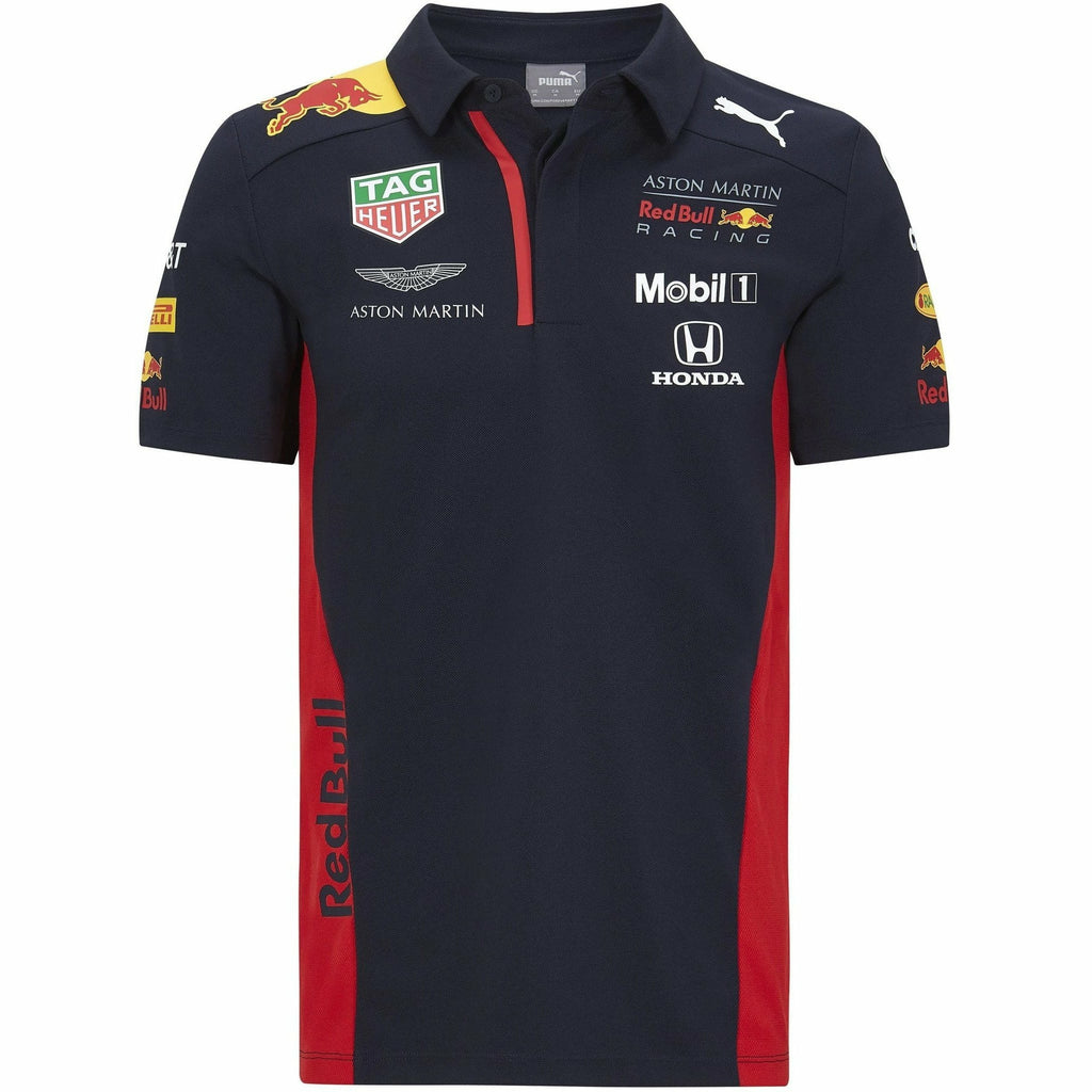 Red Bull Racing F1 2020 Men's Team Polo Navy