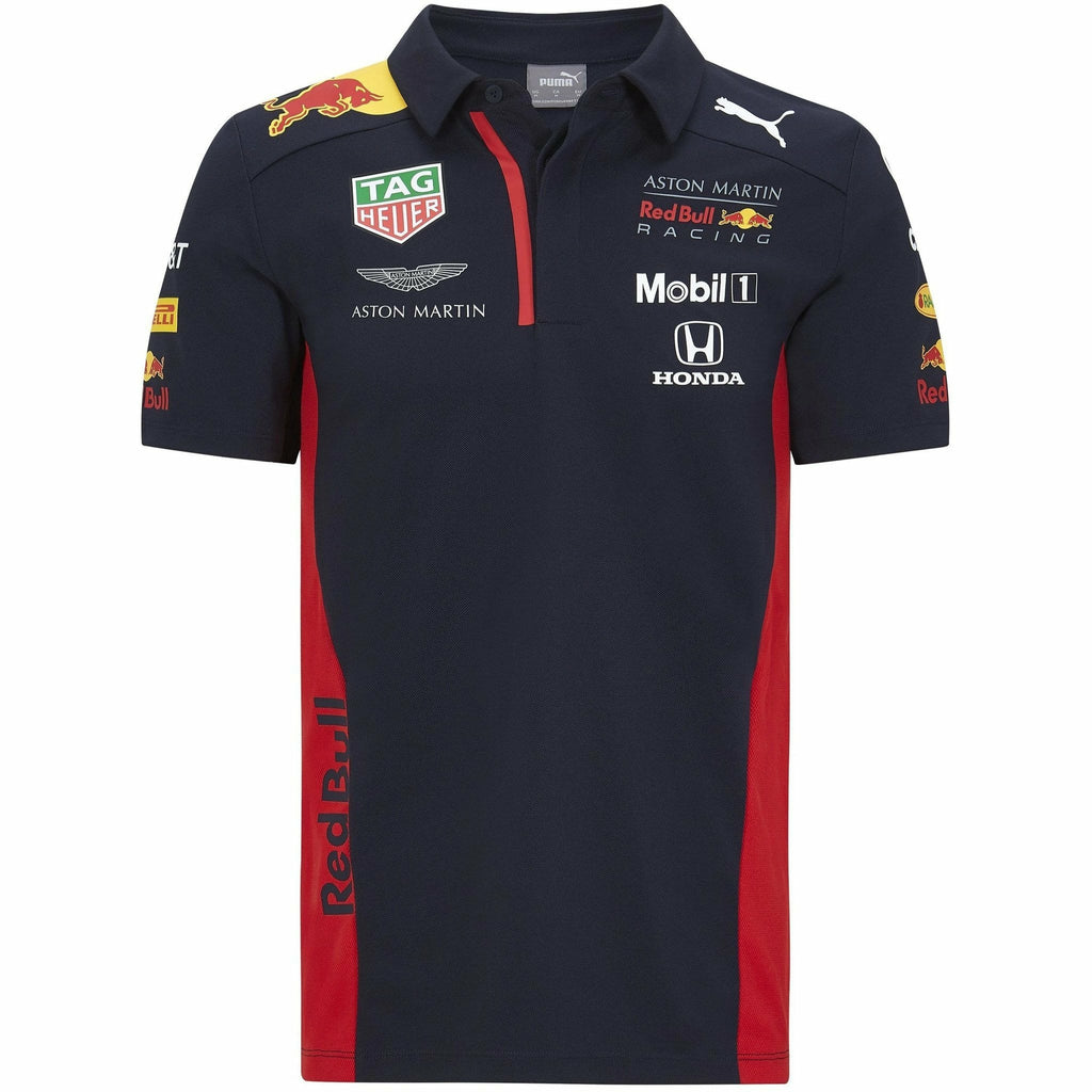 Red Bull Racing F1 2020 Kids Team Polo Navy