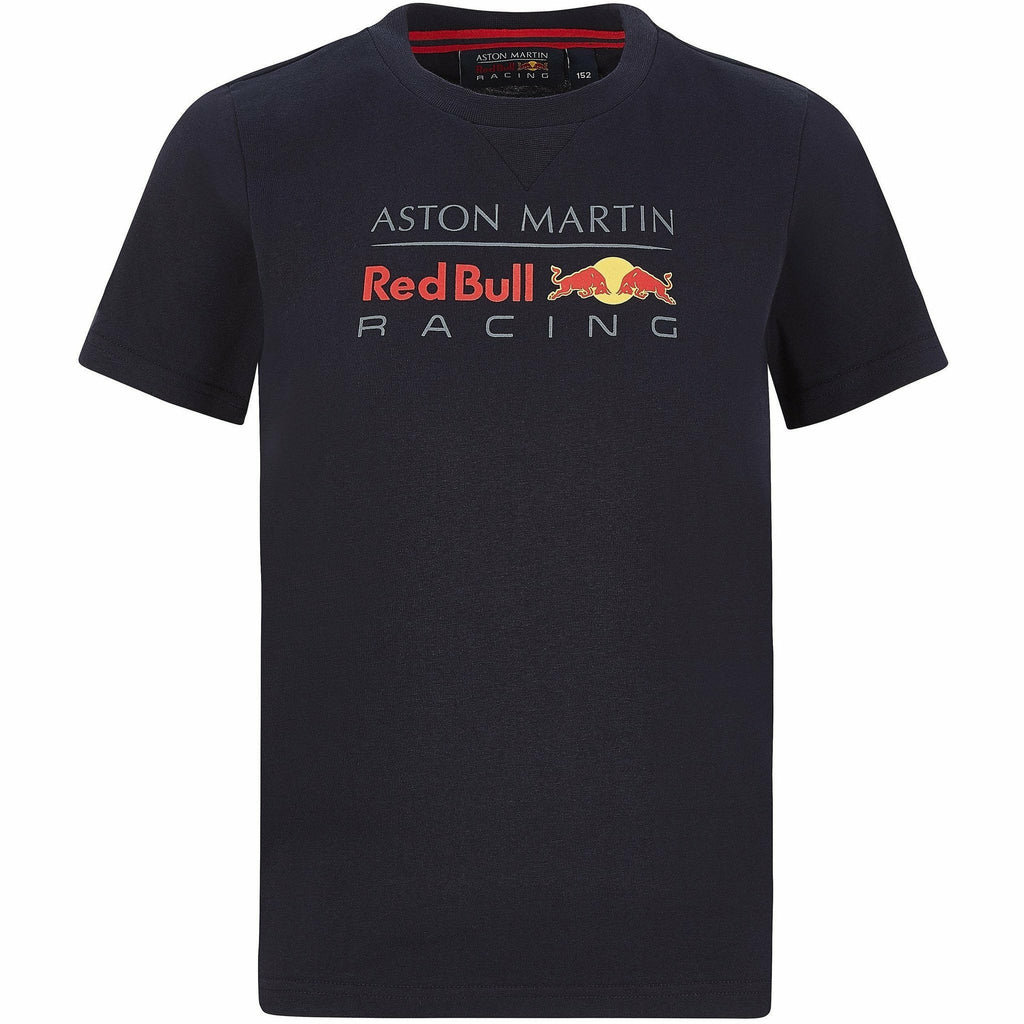 Red Bull Racing F1 Kids Large Logo T-Shirt Navy