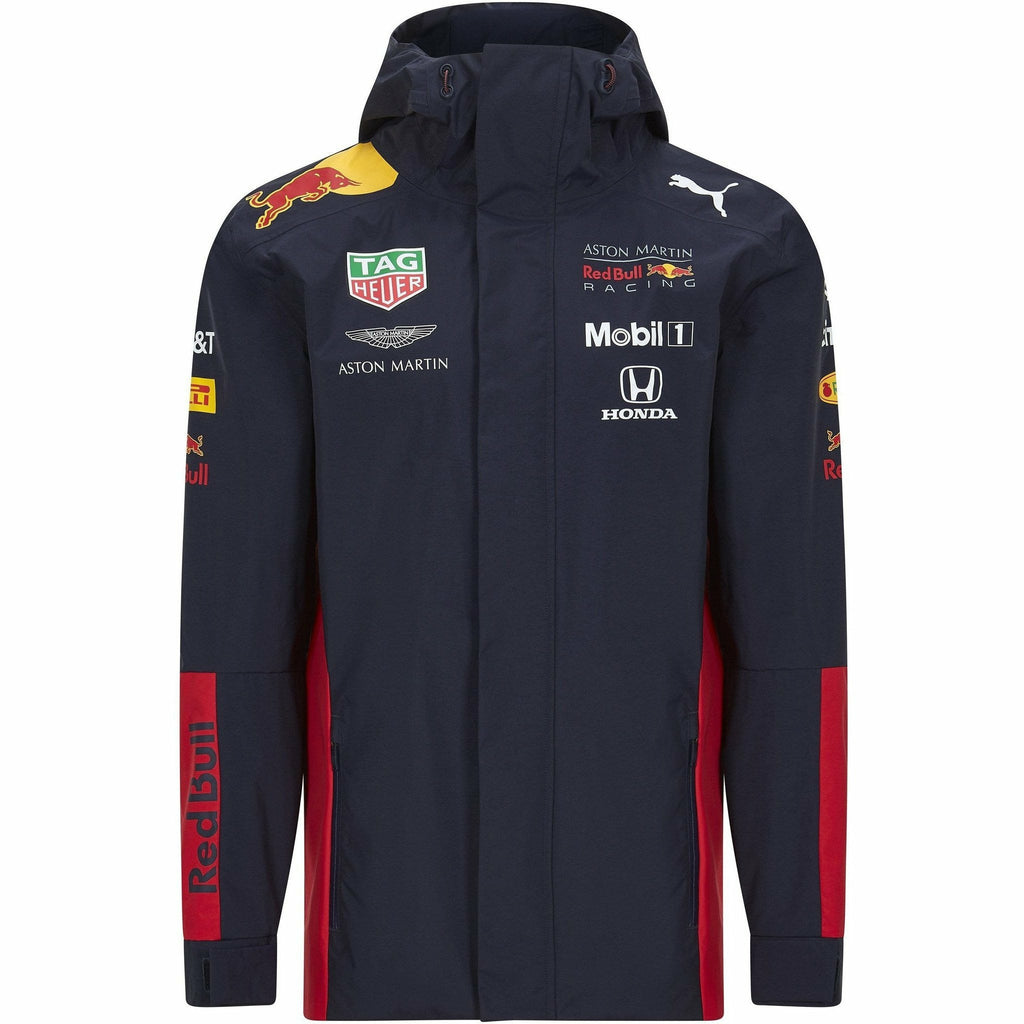Red Bull Racing F1 2020 Men's Team Rain Jacket Navy