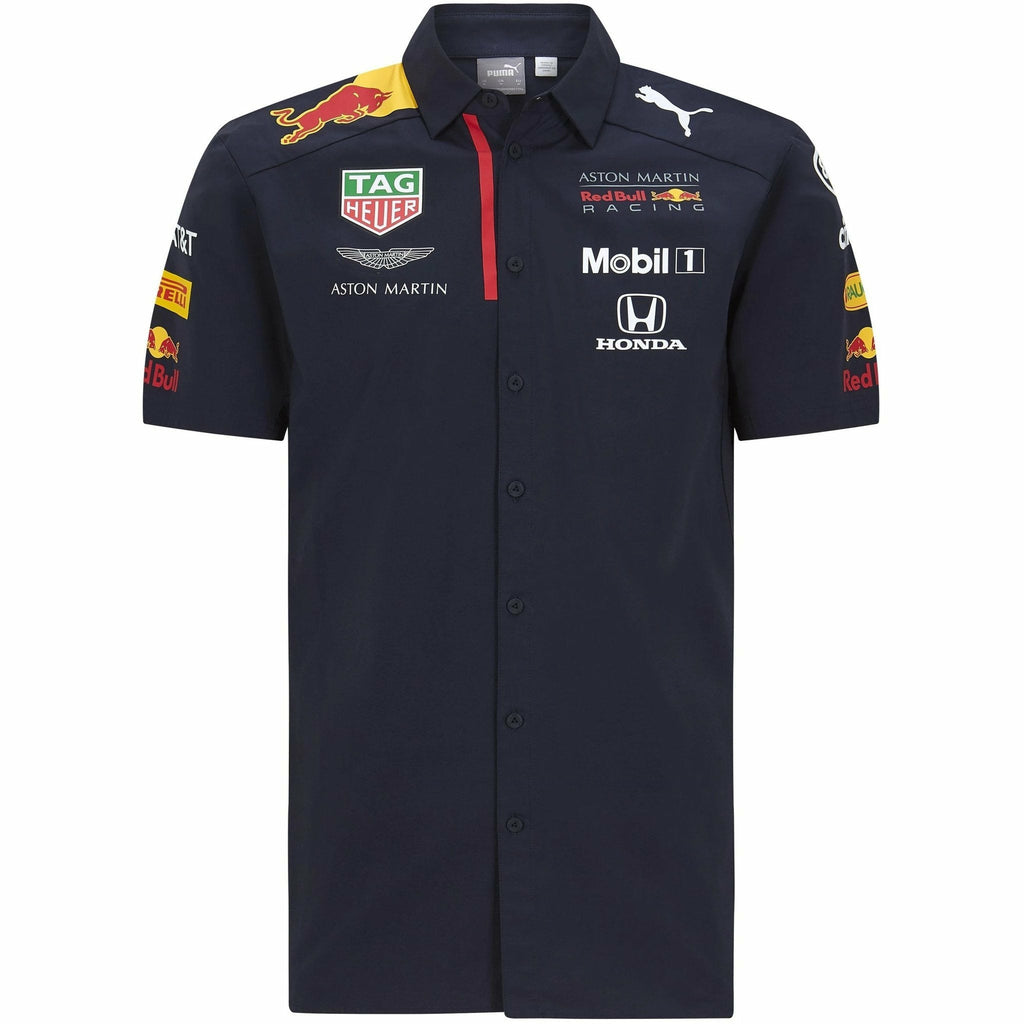 Red Bull Racing F1 2020 Men's Team Shirt Navy