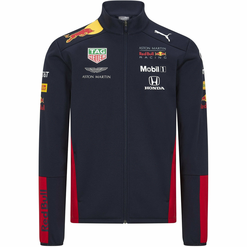 Red Bull Racing F1 2020 Kids Team Softshell Jacket Navy