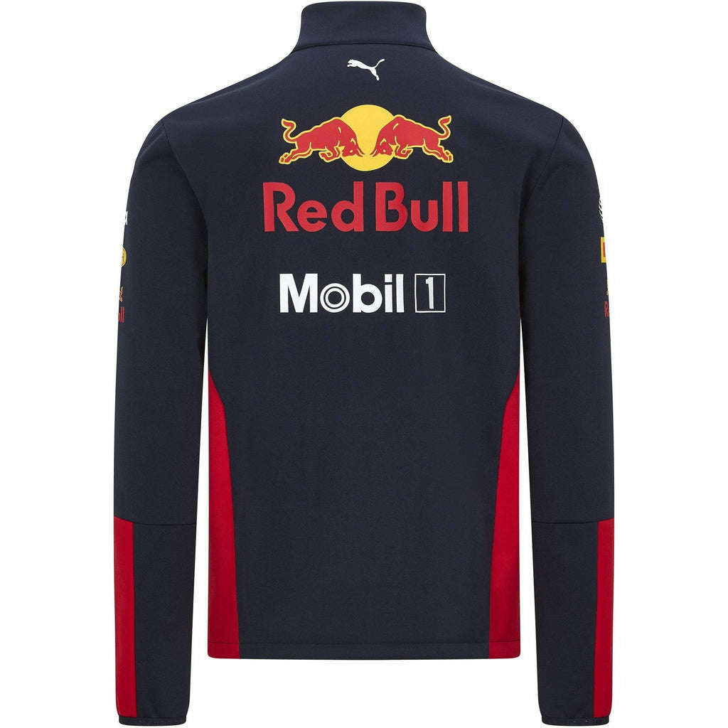 Red Bull Racing F1 2020 Men's Team Softshell Jacket Navy