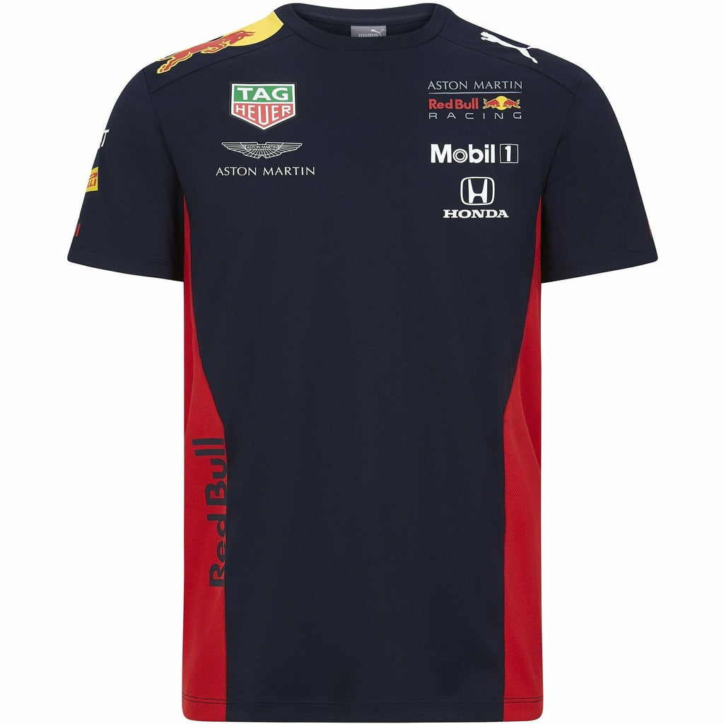 Red Bull Racing F1 2020 Kids Team T-Shirt Navy