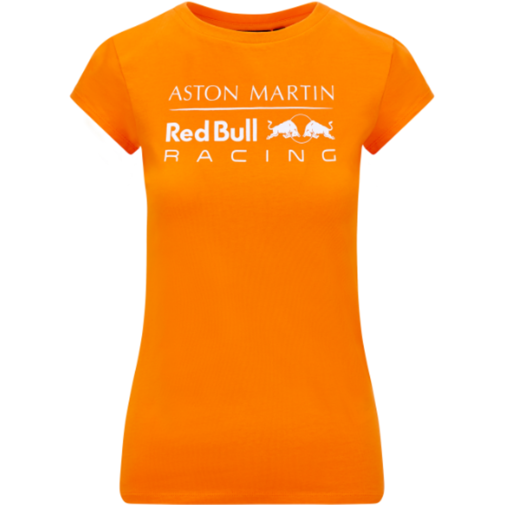 Red Bull Racing F1 Women's Logo T-Shirt Orange