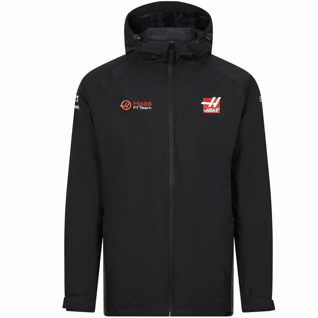 Haas Racing F1 2020 Men's Team Rainjacket Black