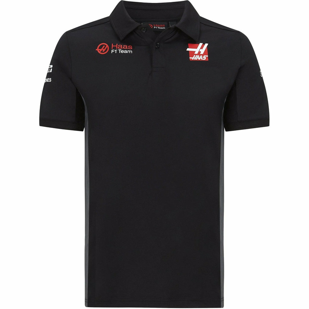 Haas Racing F1 2020 Men's Team Polo Black