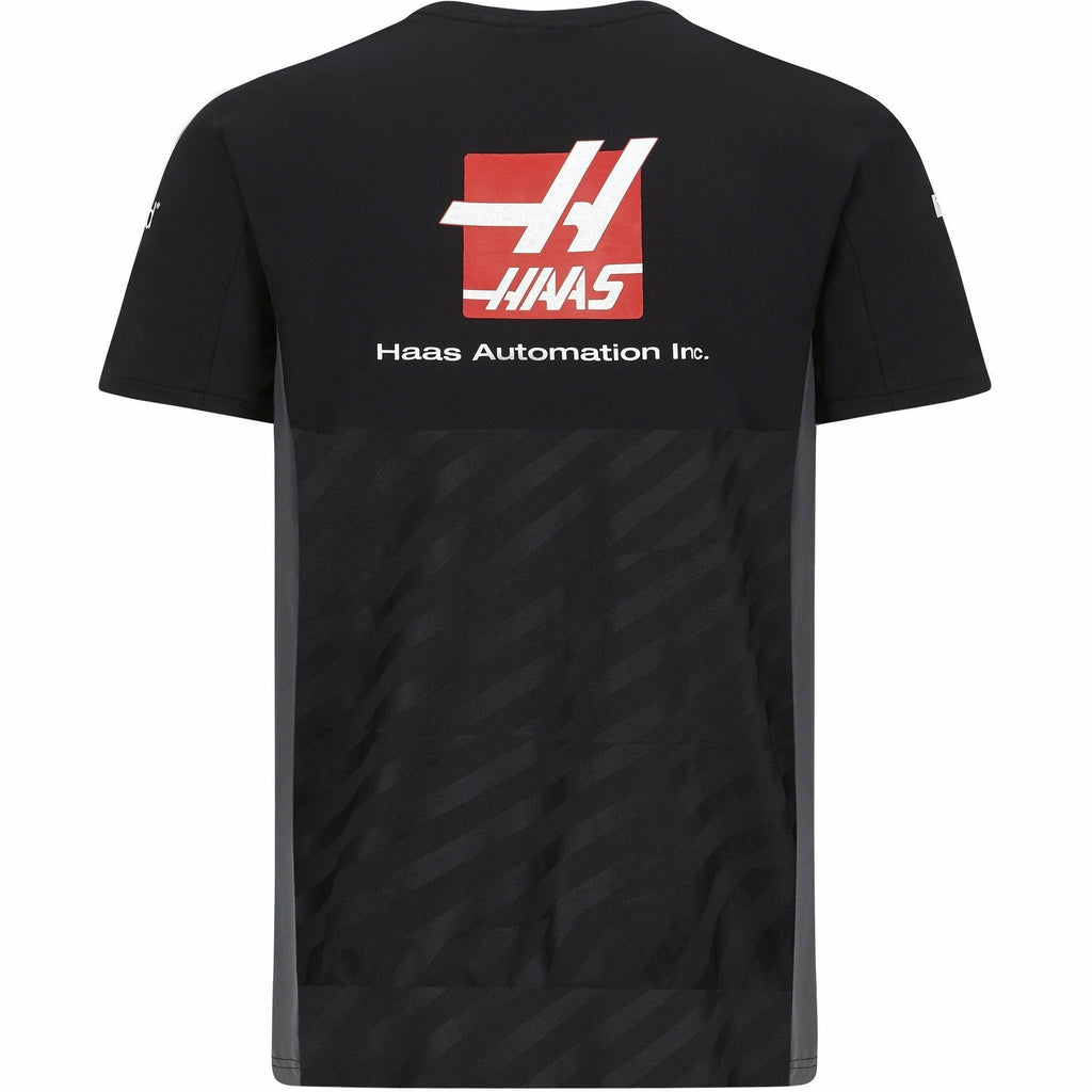 Haas Racing F1 2020 Men's Team T-Shirt Black
