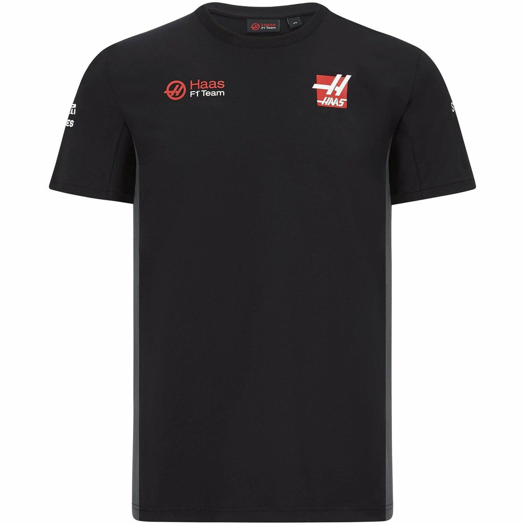 Haas Racing F1 2020 Kids Team T-Shirt Black