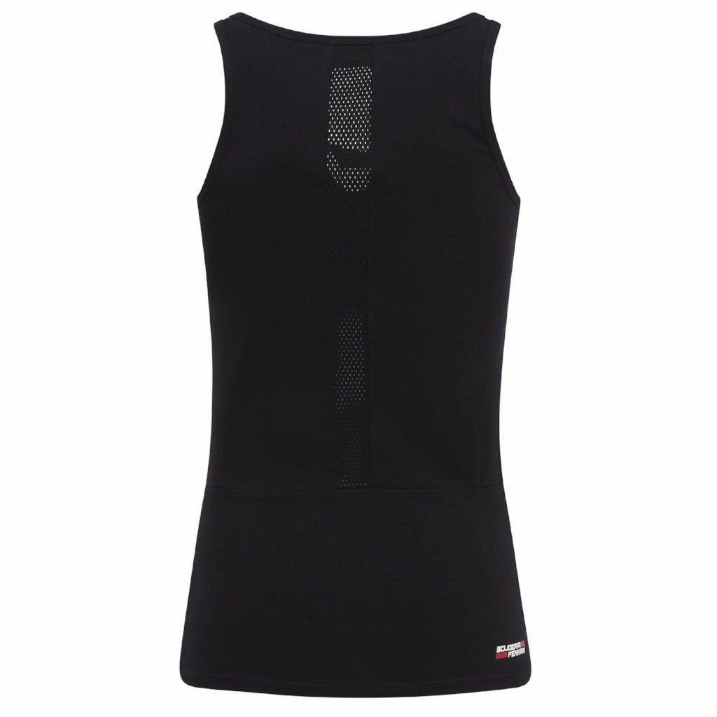 Scuderia Ferrari F1 Women's Racer Back Tank Top Black