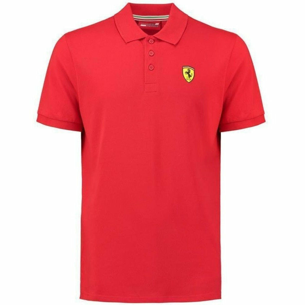 Ferrari Men's Formula 1 2018 Authentic Men's Classic Red Polo