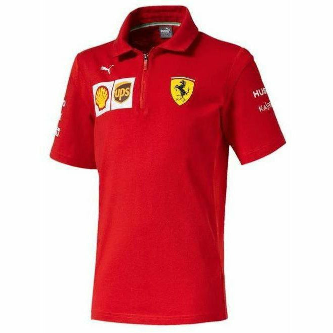 Kid's Scuderia Ferrari 2019 F1 Team Polo Shirt