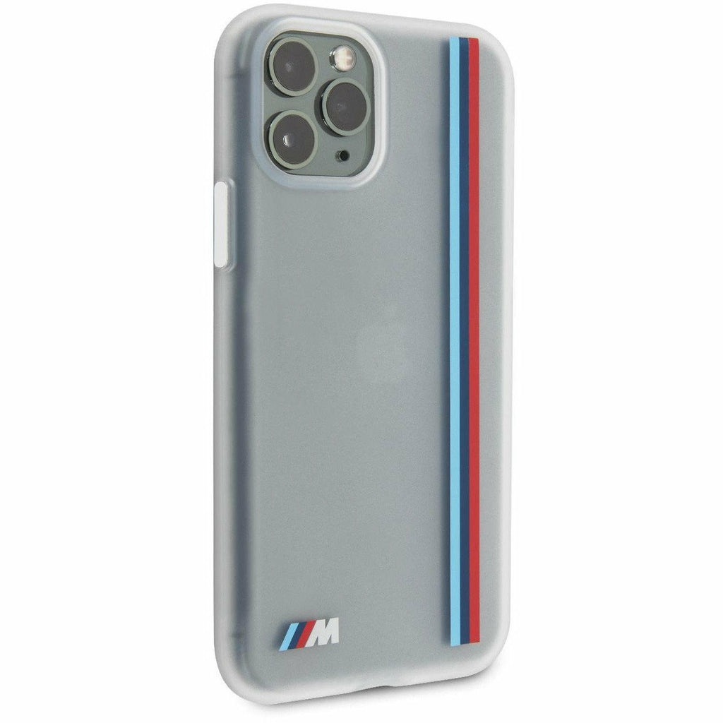 BMW Motorsports PHONE CASE FOR IPHONE 11 PRO SILICONE CASE WITH SOFT MICROFIBER INTERIOR