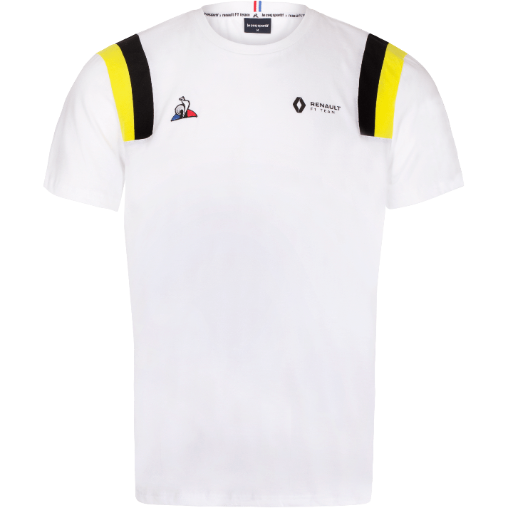 Renault F1 Men's  Fan T-Shirt White