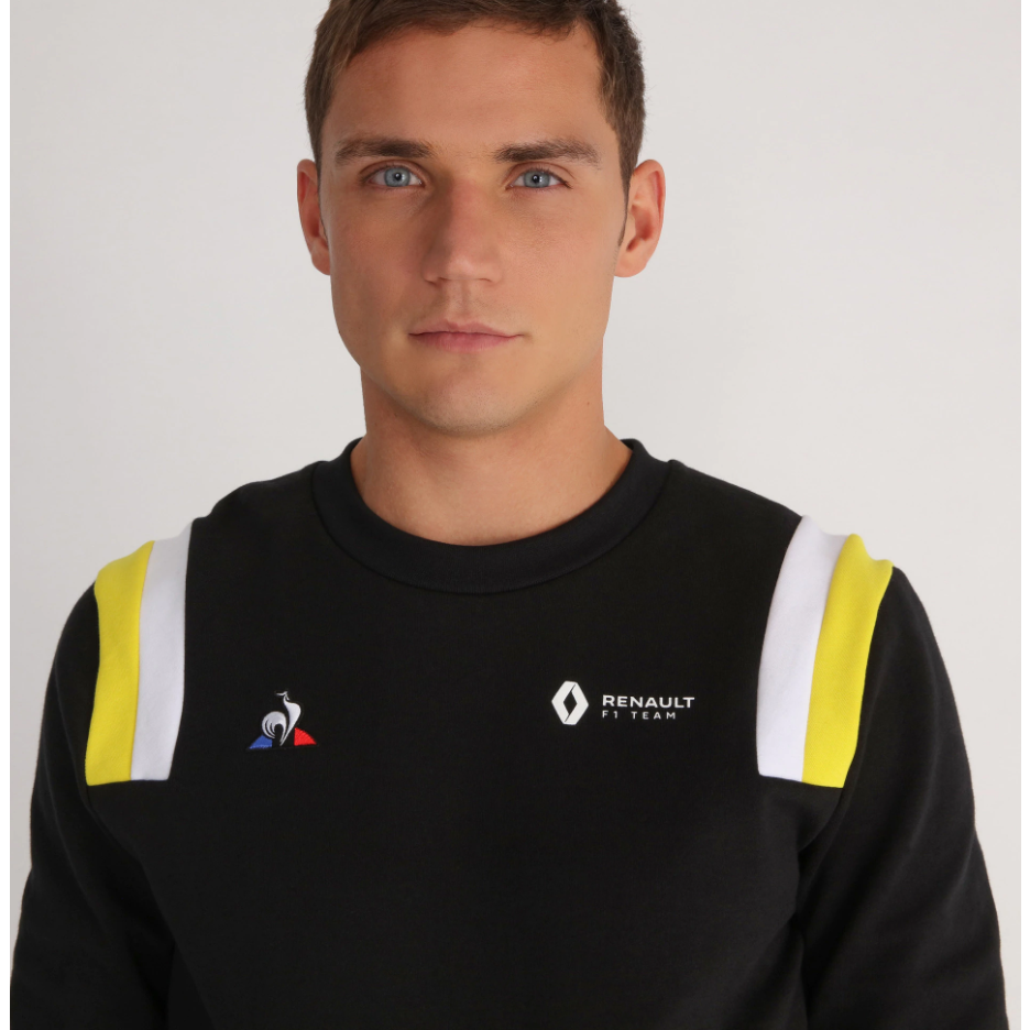 Renault F1 Men's Crew Sweatshirt Black