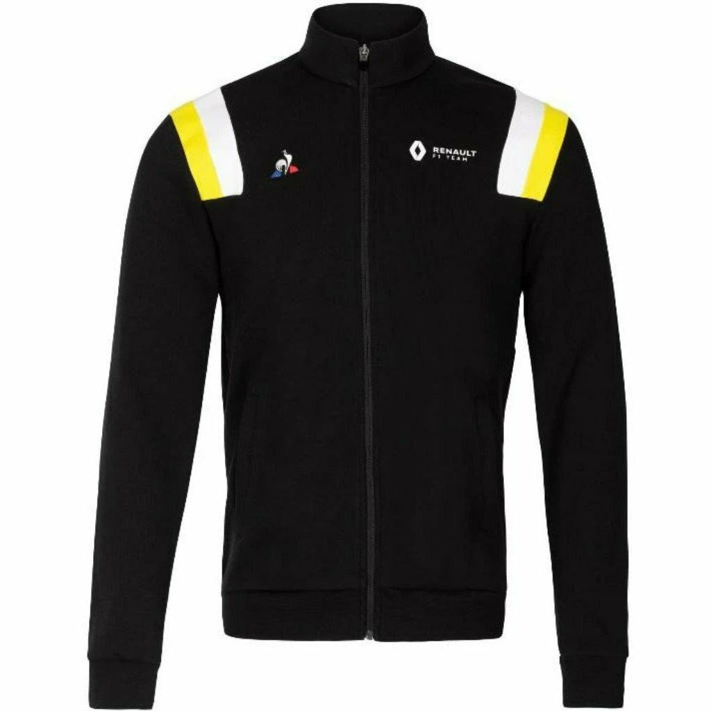Renault F1 Men's  Fan Full Zip Sweatshirt Black