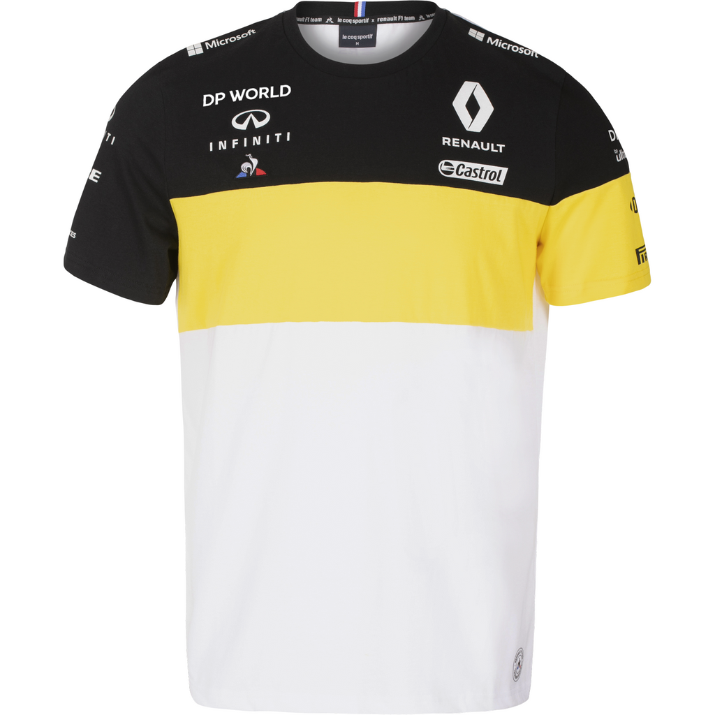 Renault F1 2020 Men's Team T-Shirt White