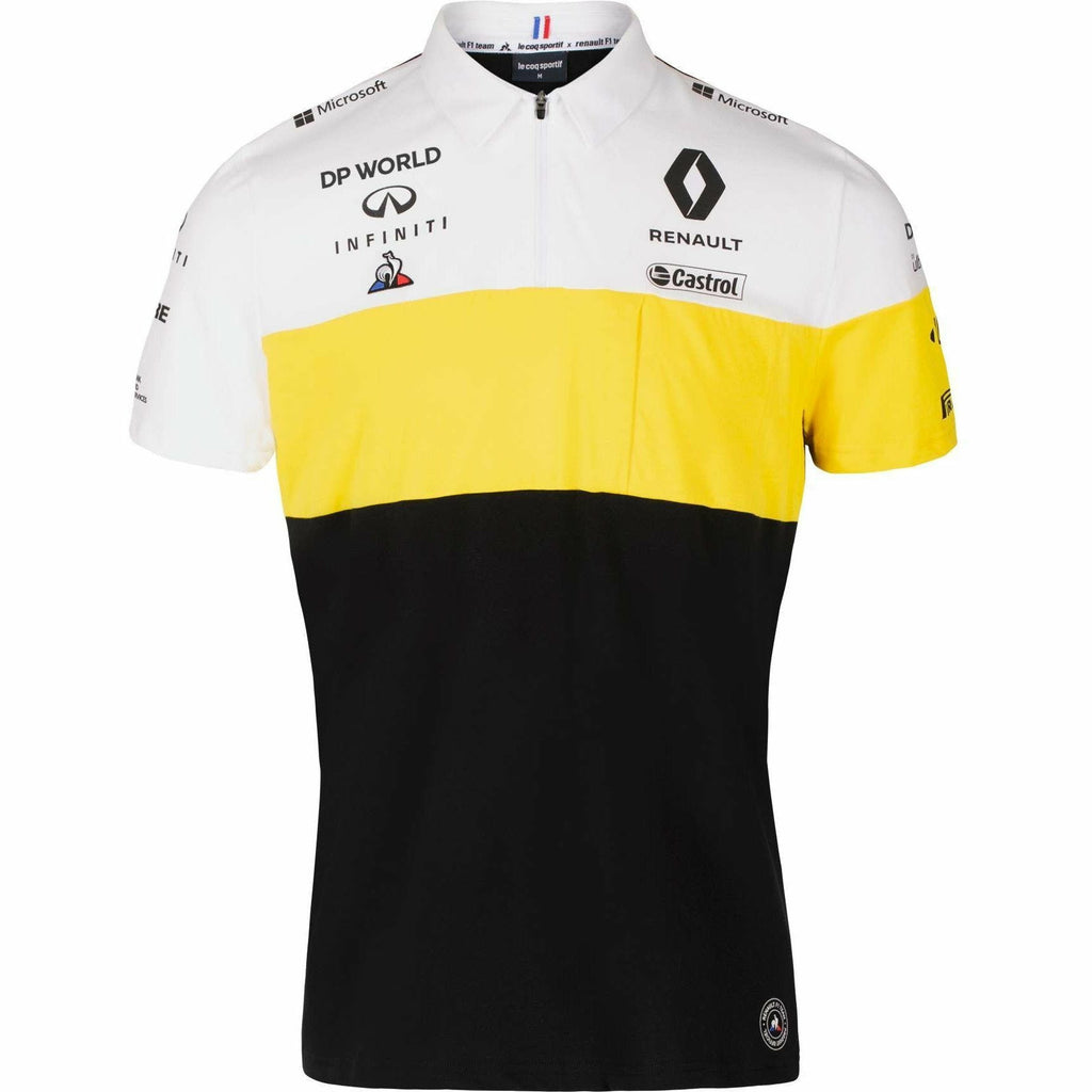 Renault F1 2020 Men's Team Polo Black