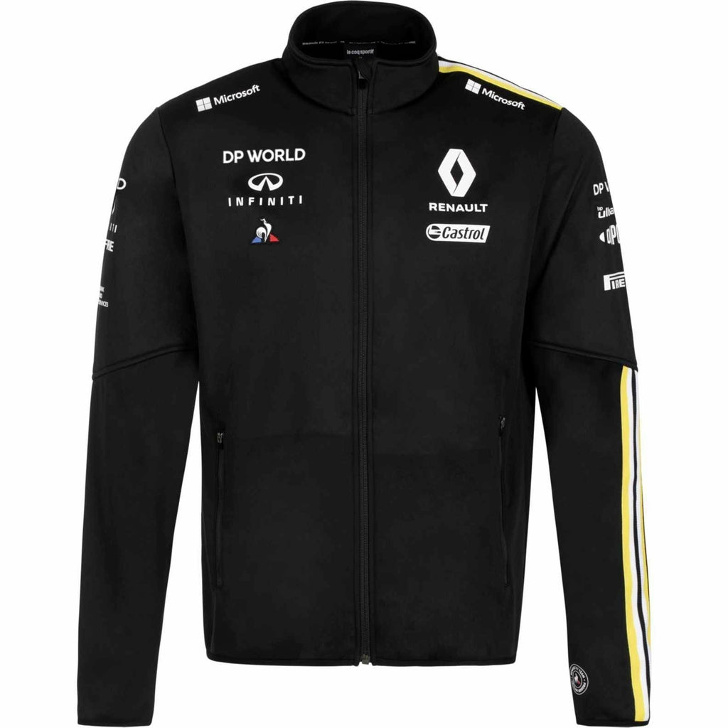 Renault F1 2020 Men's Team Softshell Jacket Black