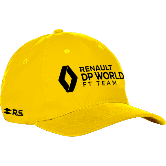 Renault F1 2020 Team DP World Hat Yellow