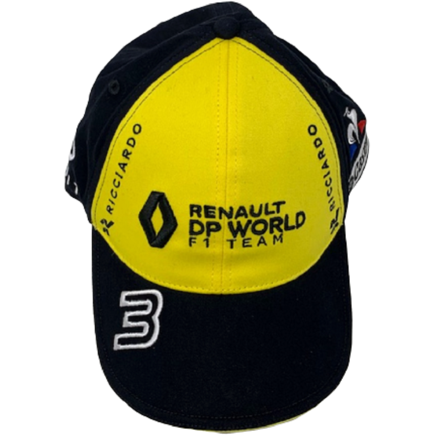 Renault F1 2020 Team Daniel Ricciardo Hat Yellow