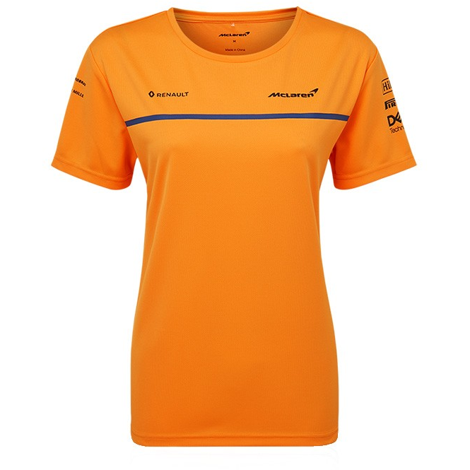 McLaren F1 2019 Women's Team Set up T-Shirt Orange