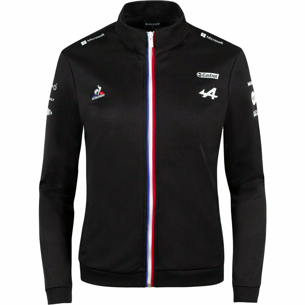 Alpine Racing F1 2021 Women's Team Sweat Jacket- Black