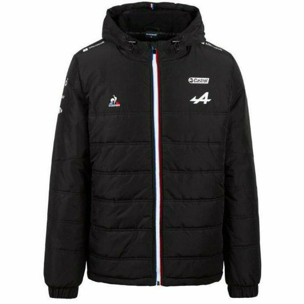 Alpine Racing F1 2021 Men's Team Parka  Jacket - Black