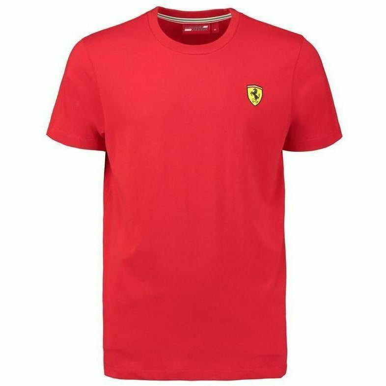 Ferrari Men's Red Classic Crew Neck 2018 T-shirt